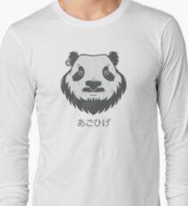 Panda Bear(d) Long Sleeve T-Shirt