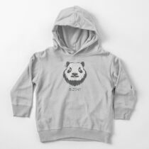 Panda Bear(d) Toddler Pullover Hoodie