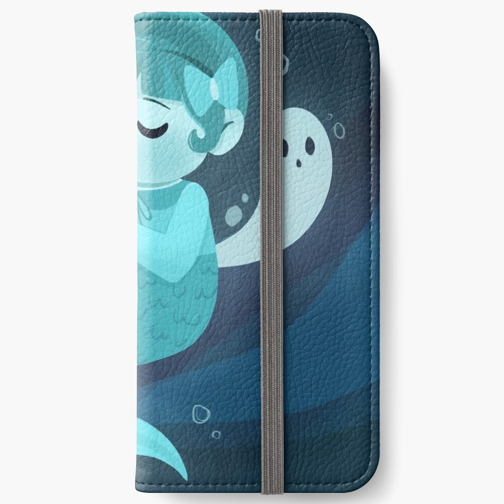 Ghost Mermaid iPhone Wallet