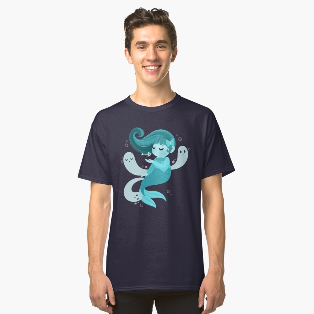 Ghost Mermaid Classic T-Shirt