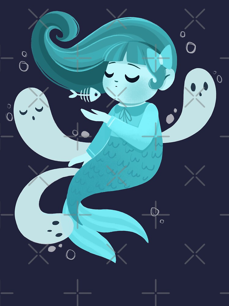 Ghost Mermaid by lobomaravilha