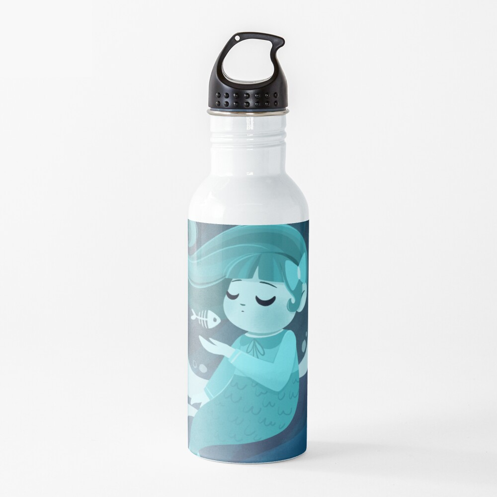 Ghost Mermaid Water Bottle