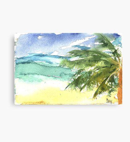 Sand and Salt Canvas Print