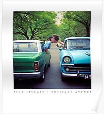 "Tina FiveAsh, ""Twilight Avenue"" 1997 (reproduction poster) Poster"