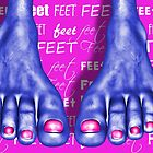 Saturated Feet Feet by GolemAura