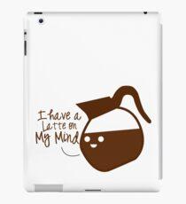 Coffee puns iPad Case/Skin