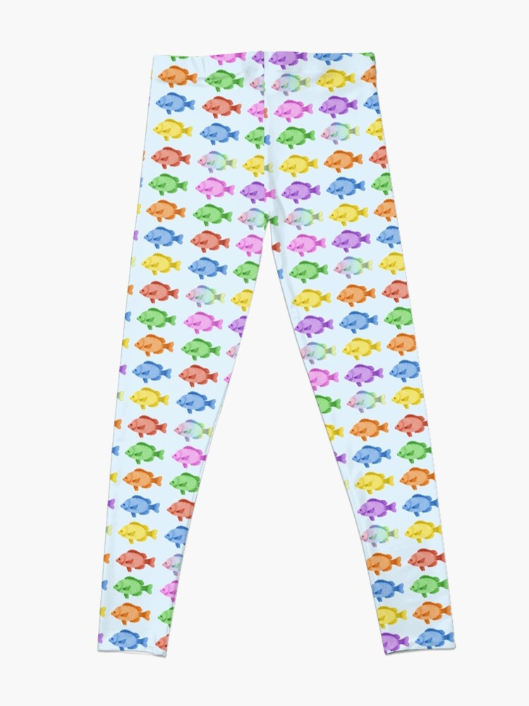 Vista alternativa de Leggings Peces multicolores