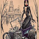 MORTICIA in a T-Bucket by George Webber