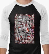 Titans of Horror Men's Baseball ¾ T-Shirt