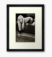 Blond Ambition Framed Print