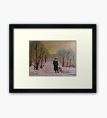 Going hunting with Lux Framed Print
