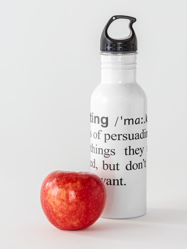 Alternate view of Marketing Water Bottle