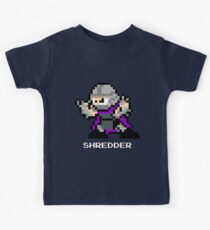 8-Bit TMNT Shredder Kids Tee