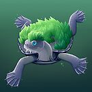 Mary River Turtle by Tami Wicinas