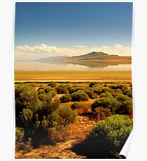 Sagebrush at the Lake Poster