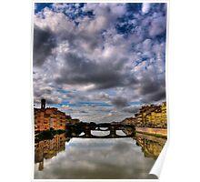 Florence Bridge Poster