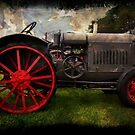 Antique Tractor by Russell Fry