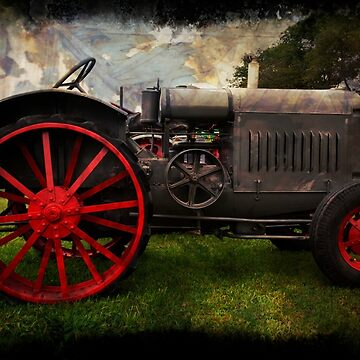 Antique Tractor by cvdad