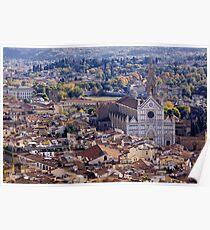 Basilica di Santa Croce Poster
