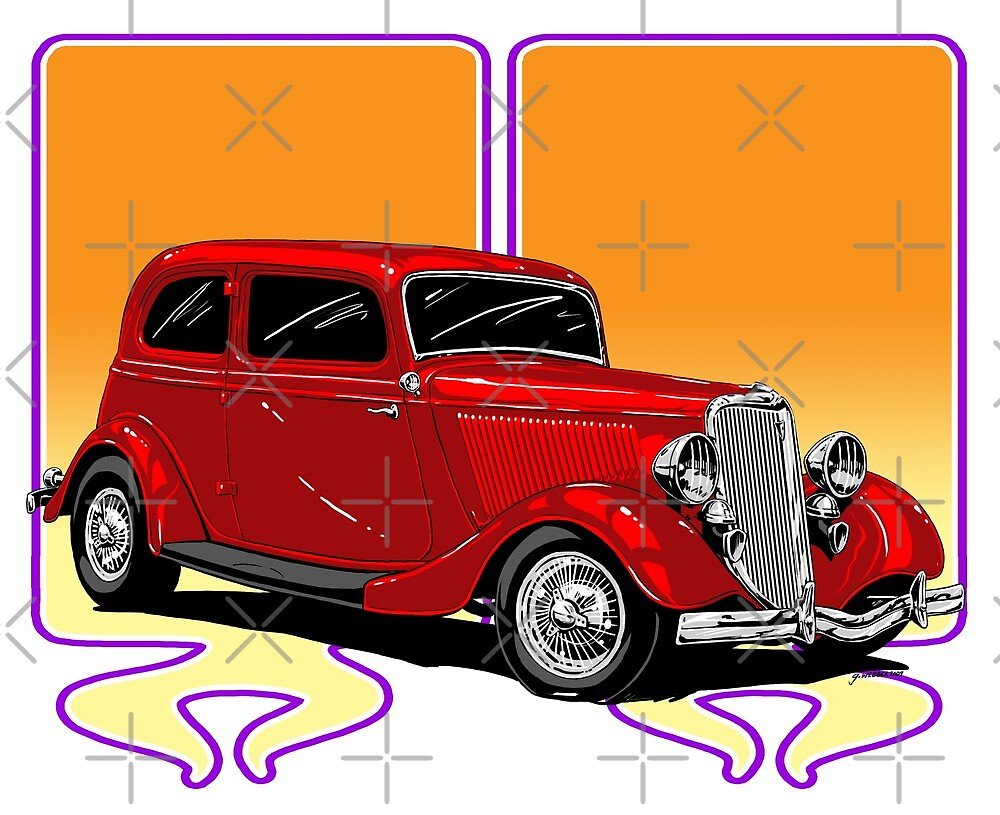 RED HOT ROD by George Webber