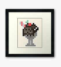 The Chocolate Overload Milkshake Framed Print