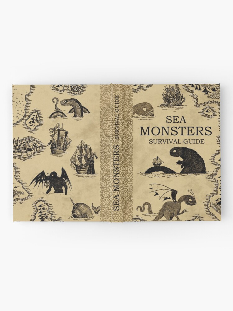 Alternate view of Sea Monsters Survival Guide Hardcover Journal