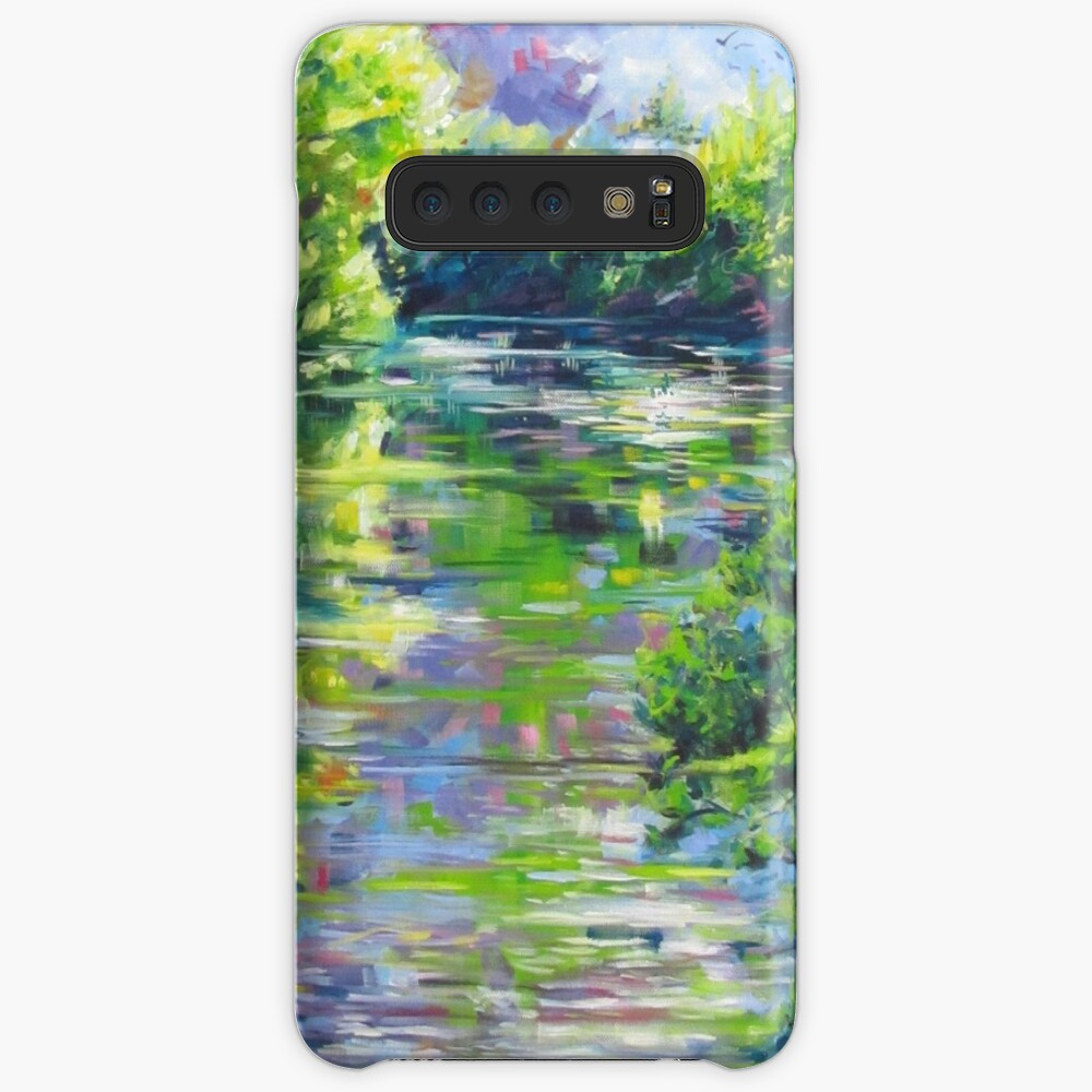 Water reflection 1 Samsung Galaxy Snap Case
