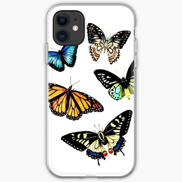 Butterflies iPhone Soft Case