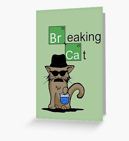 breaking bad greeting cards  redbubble, Greeting card