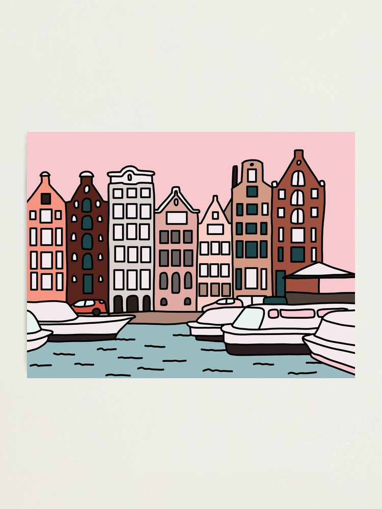Alternate view of Amsterdam by Elebea Photographic Print