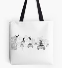 Pedestrian Parkour Tote Bag