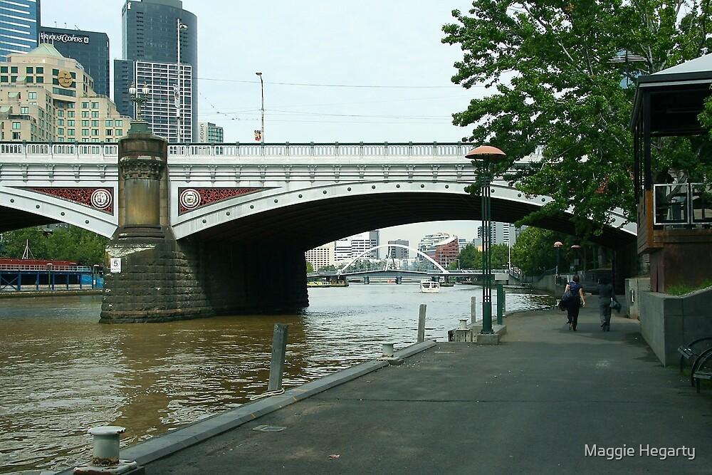 Princes Bridge, Melbourne by Maggie Hegarty