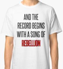 Belt Lyrics Classic T-Shirt