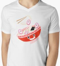 Kawaii Ramen Men's V-Neck T-Shirt
