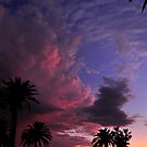 Clouds at dusk by Anthony Hennessy