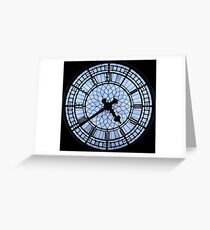 Westminster Clockface Greeting Card
