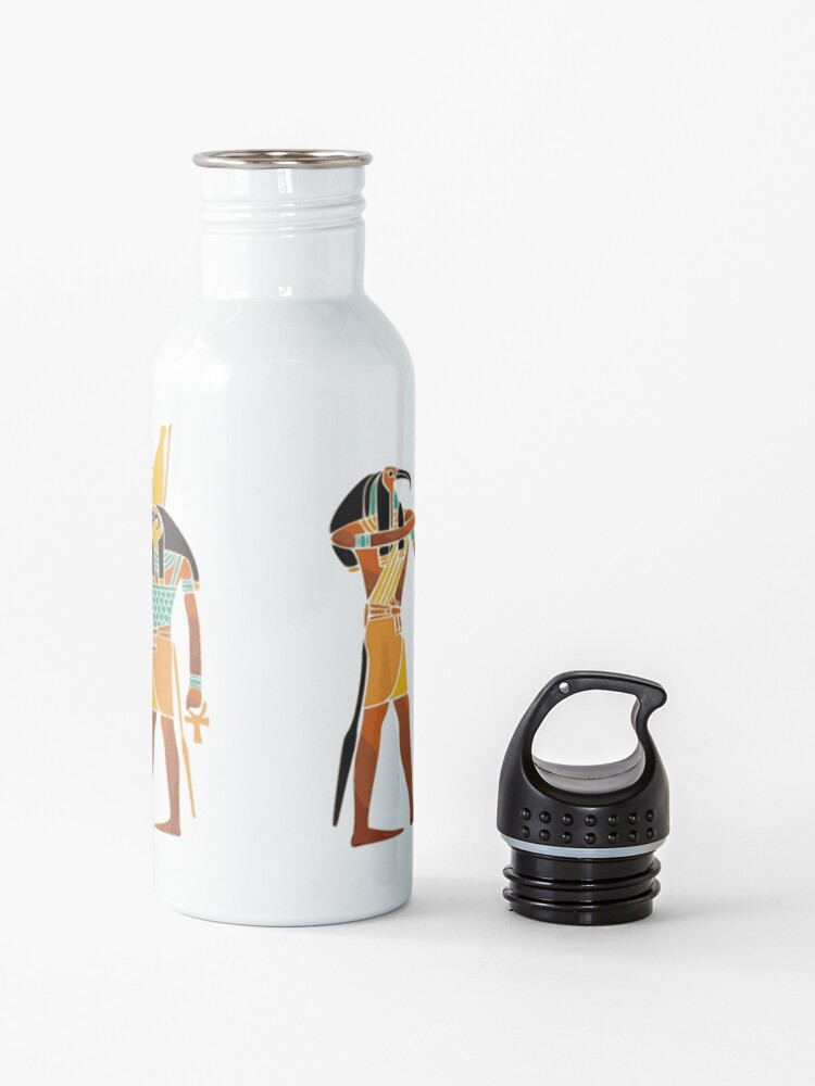 Alternate view of WEIGHING THE SOUL, Egyptians, Egyptian. Water Bottle