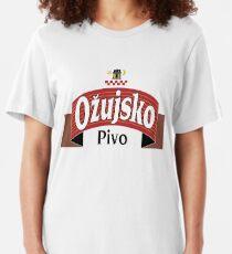 Croatia - Ozujsko Pivo - World Beers Slim Fit T-Shirt
