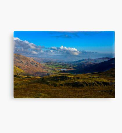 Lakeland View Canvas Print