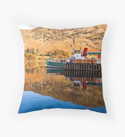Ullswater Steamer Throw Pillow