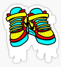 Primary High Tops Sticker