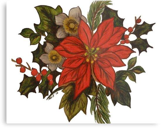 'Til the Season Comes 'Round Again Christmas Card by Marsha Free