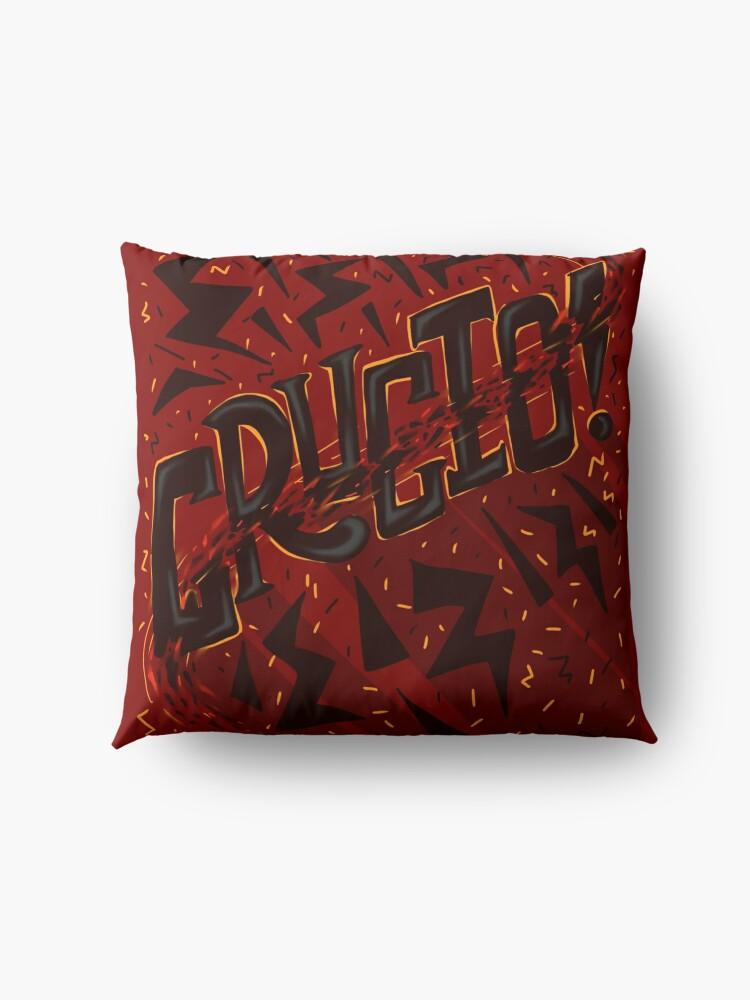 Alternate view of Unforgivable Curse - Crucio Floor Pillow