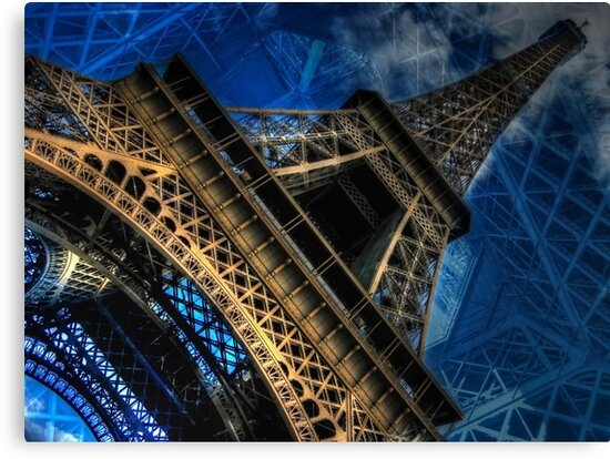 Eiffel Deux by Randy Turnbow
