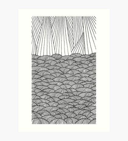 Barrilitos Art Print