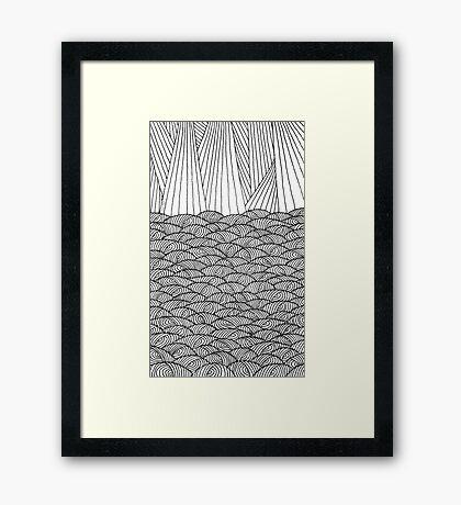 Barrilitos Framed Print