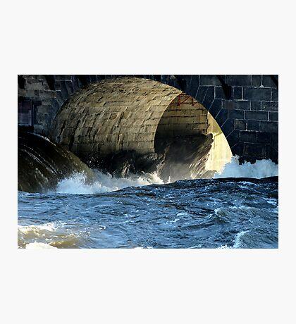 Morning Flood Photographic Print