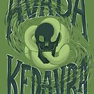 Unforgivable Curse - Avada Kedavra by abbymalagaART