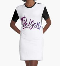 Poison Graphic T-Shirt Dress