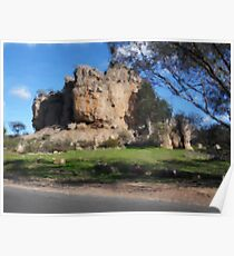 Mt Arapiles In Victoria - Acrylic Poster
